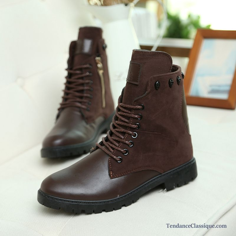 Bottes Pluie Homme, Boots Homme Cuir Pas Cher