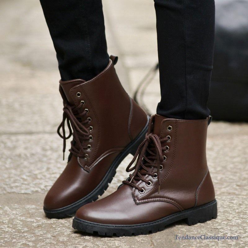 achat authentique prix modéré meilleur site Bottes Pour Homme Cuir, Bottines Boots Homme France