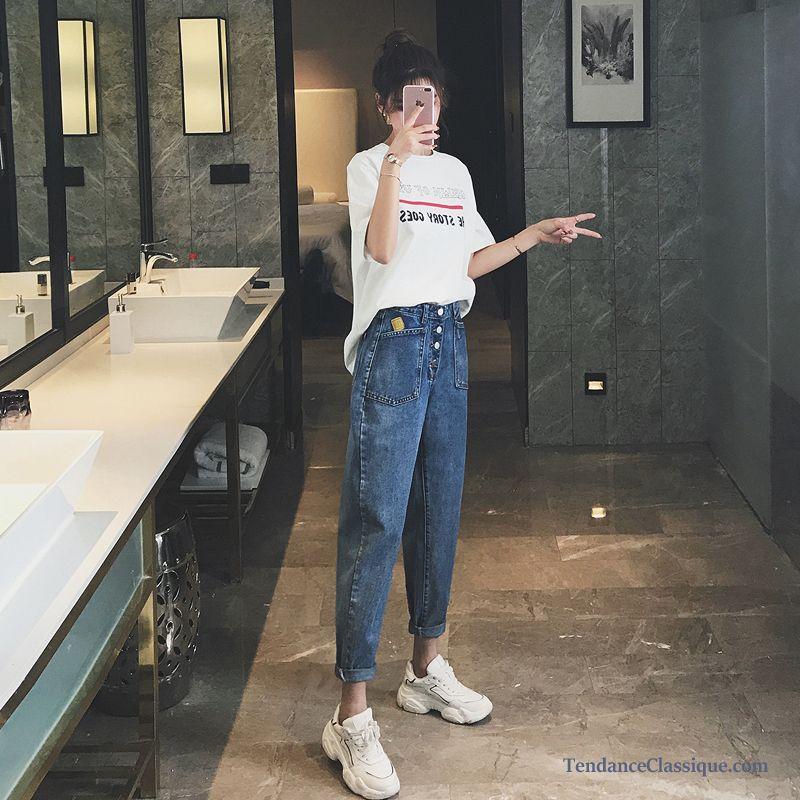 Taille Jeans Stretch Marque Femme Haute BléJean Cher Pas Slim De JcKFl1