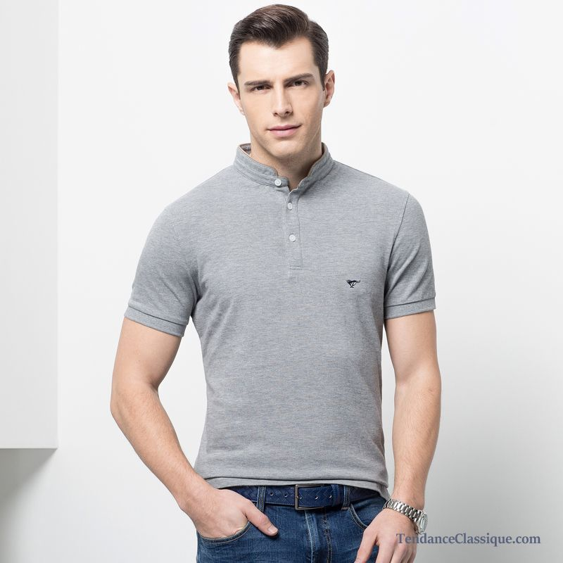 Long T Shirt Homme Marine, T Shirt Homme Manches Longues
