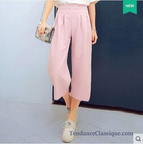 Pantalon Mode Femme edb38b9e251