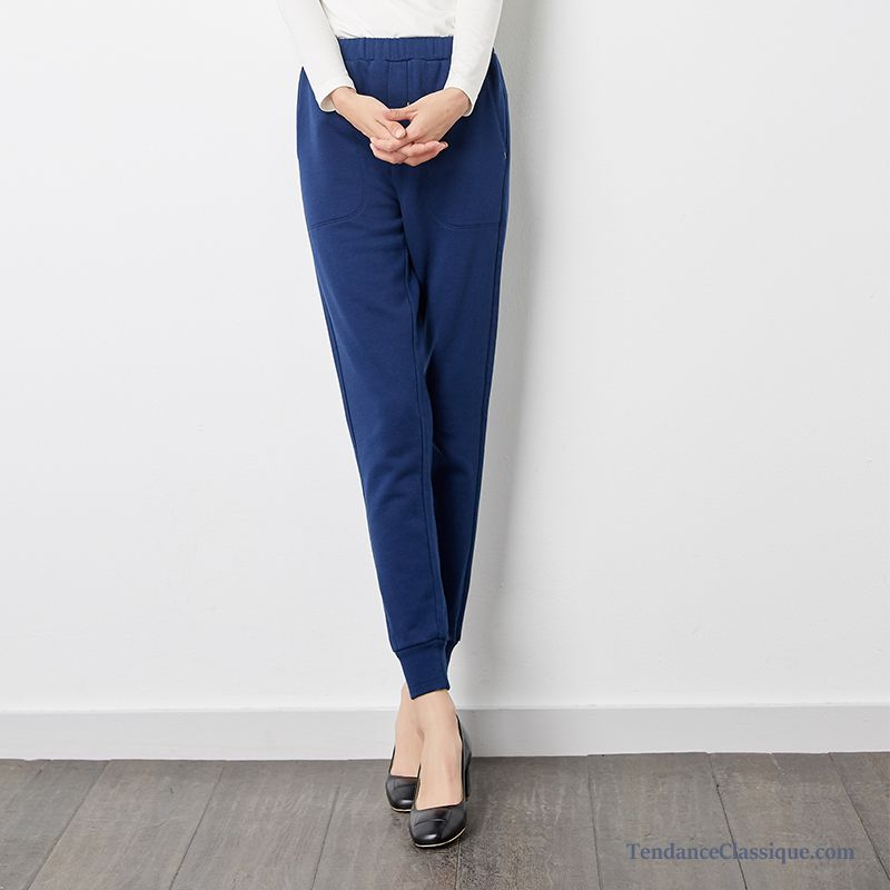 Cher Femme Noir Pantalon Slim En Tissu Sarcelle Pas qEq0WP64