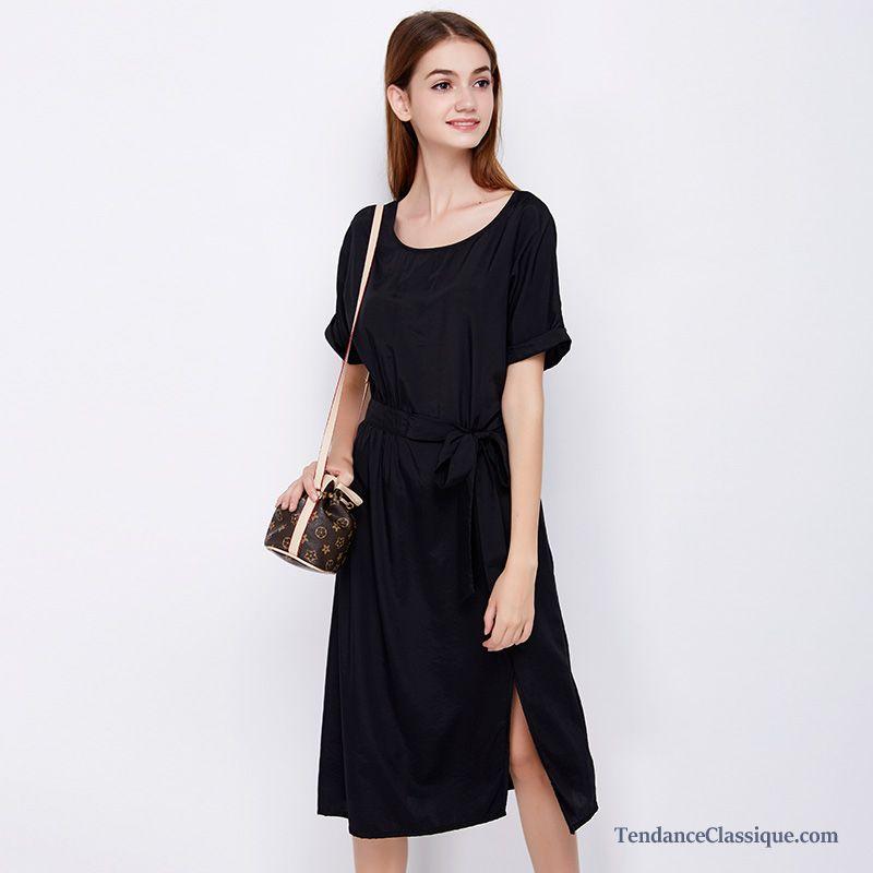 robe coton femme saumon robe de luxe pas cher