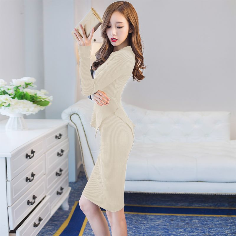 robe d hiver blanche kaki belle robe noire pas cher. Black Bedroom Furniture Sets. Home Design Ideas