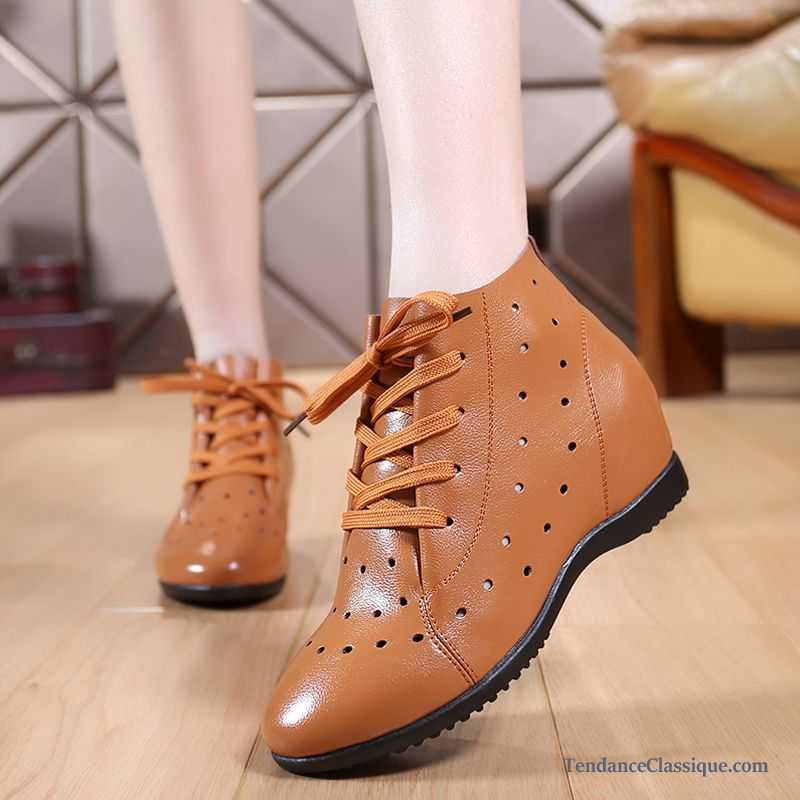 BronzerFemme Chaussures Ligne Souple De Vente En Cuir 0v8nmwNO