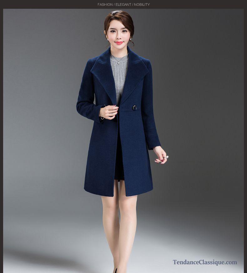Manteau Femme Cachemire Lilas, Manteau Long Pour Femme