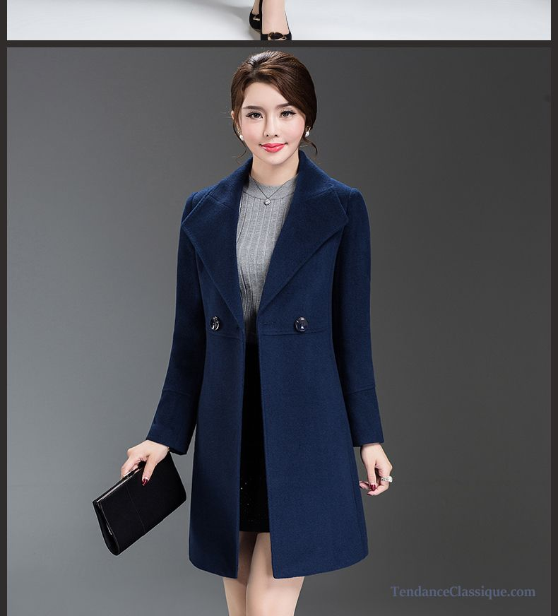 design de qualité 6294d a98ff Manteau Femme Cachemire Lilas, Manteau Long Pour Femme