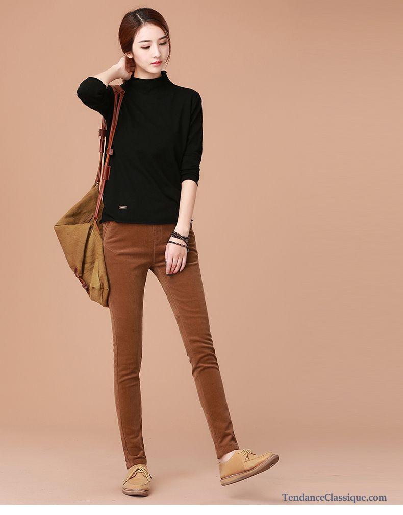 mode pantalon fuseau femme