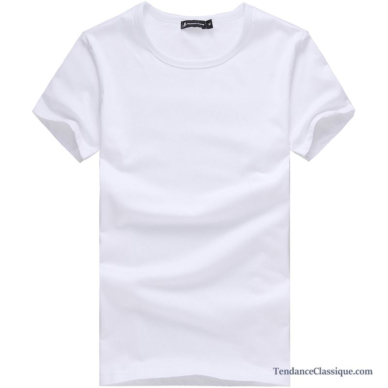 03f5c3bc Acheter T Shirt Pas Cher Violet, T Shirt Col Large Homme France