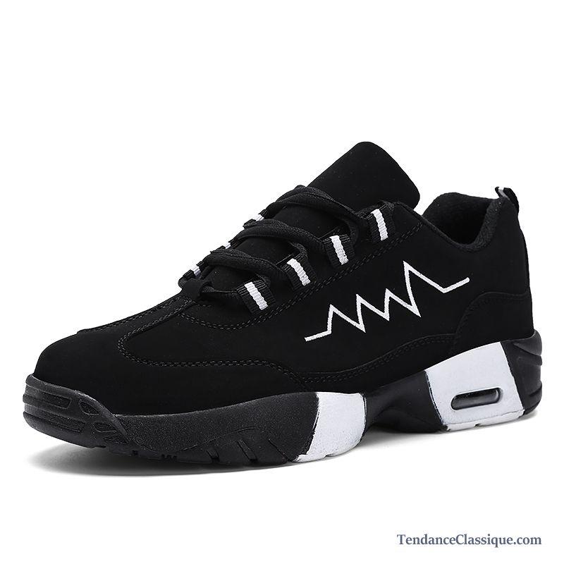 Basket Running Homme Pas Cher Noir, Vente Chaussure Running