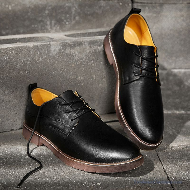Boots Cuir Homme Pas Cher, Chaussure Cuir Homme