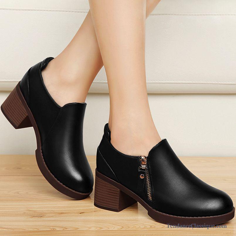 derbies et chaussures en cuir femme pas cher tendance classique page 5. Black Bedroom Furniture Sets. Home Design Ideas