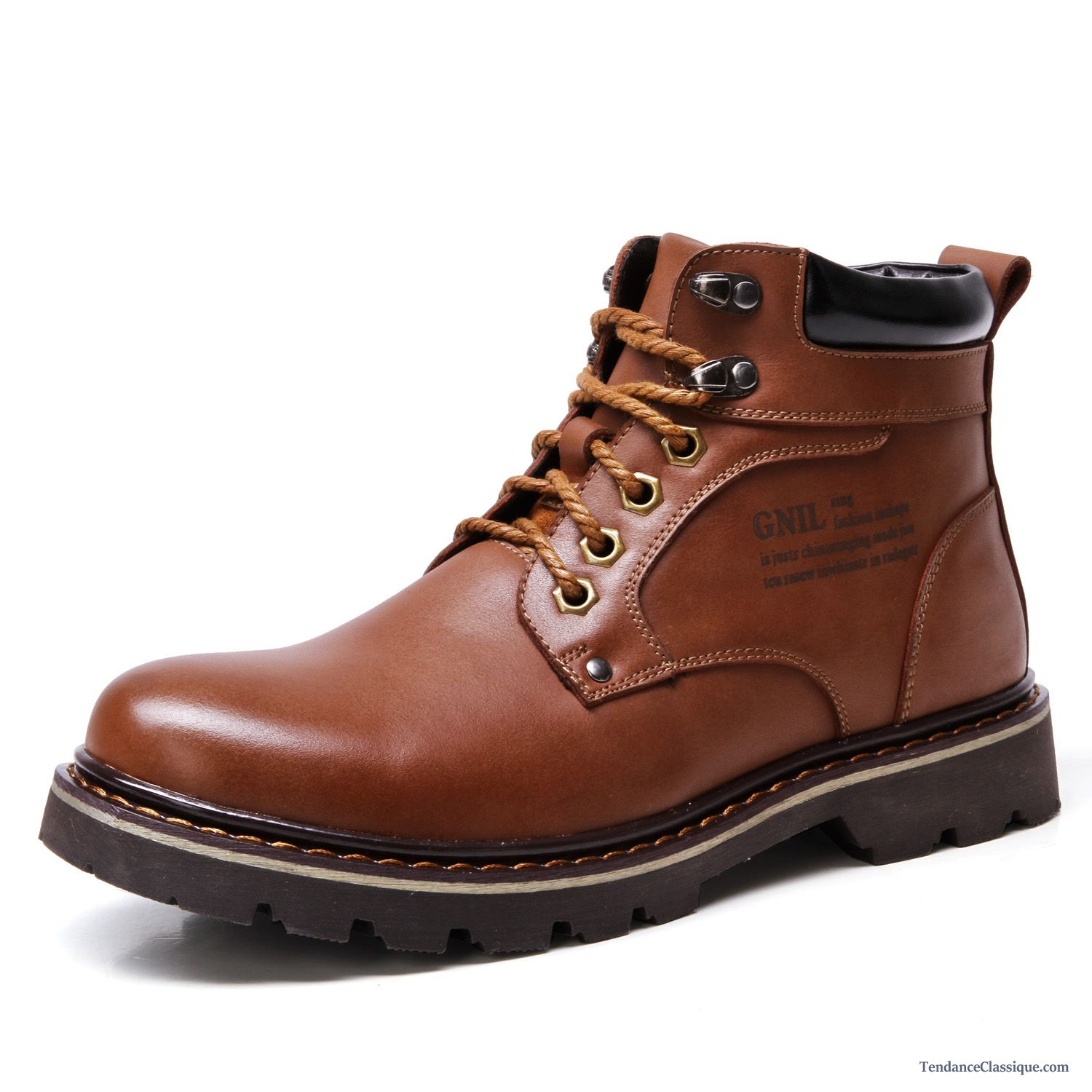 chaussure cuir hiver homme