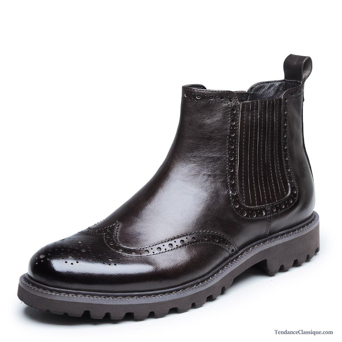 bottes homme en cuir bisque bottes cuir homme pas cher. Black Bedroom Furniture Sets. Home Design Ideas