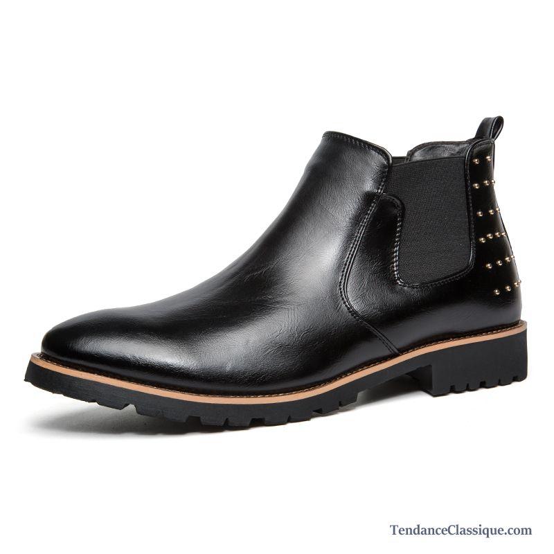 5a4dd220a5e63f Bottine Noir Homme Argent, Boots Homme Daim Marron En Ligne