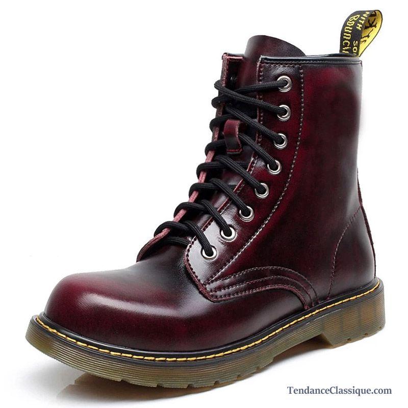 Bottes cuir pour homme rouge bottes pour hommes pas cher - Chute de cuir pas cher ...