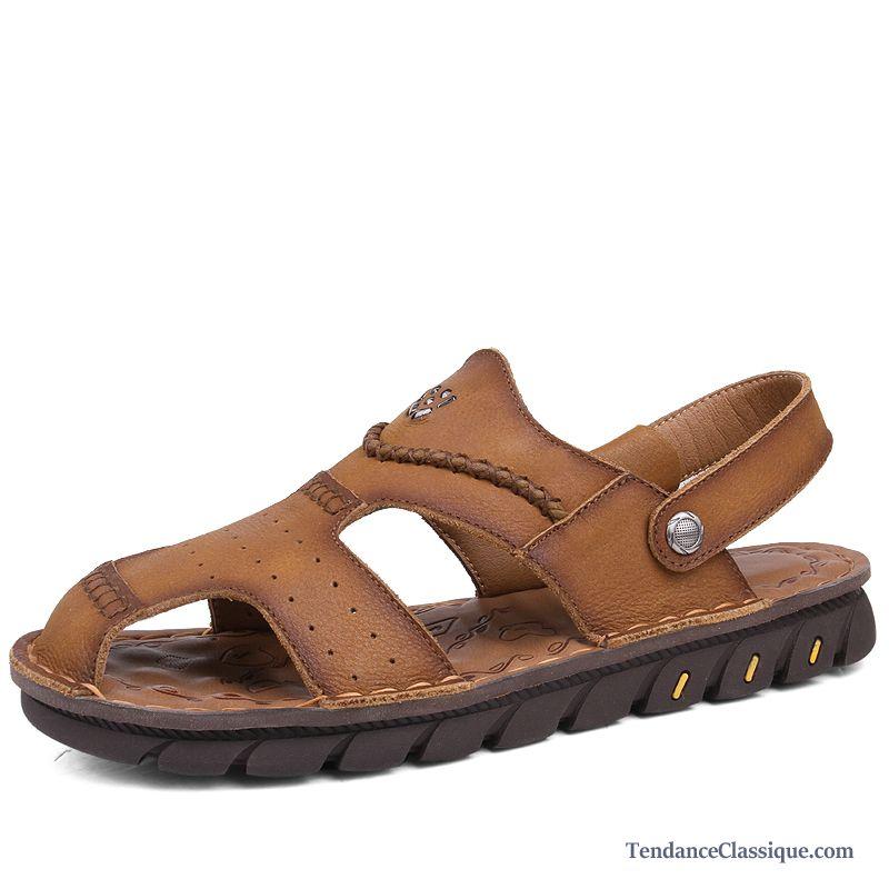 Cher HommeSouple Chaussure Sandales Homme Pas qMVGLSzpU