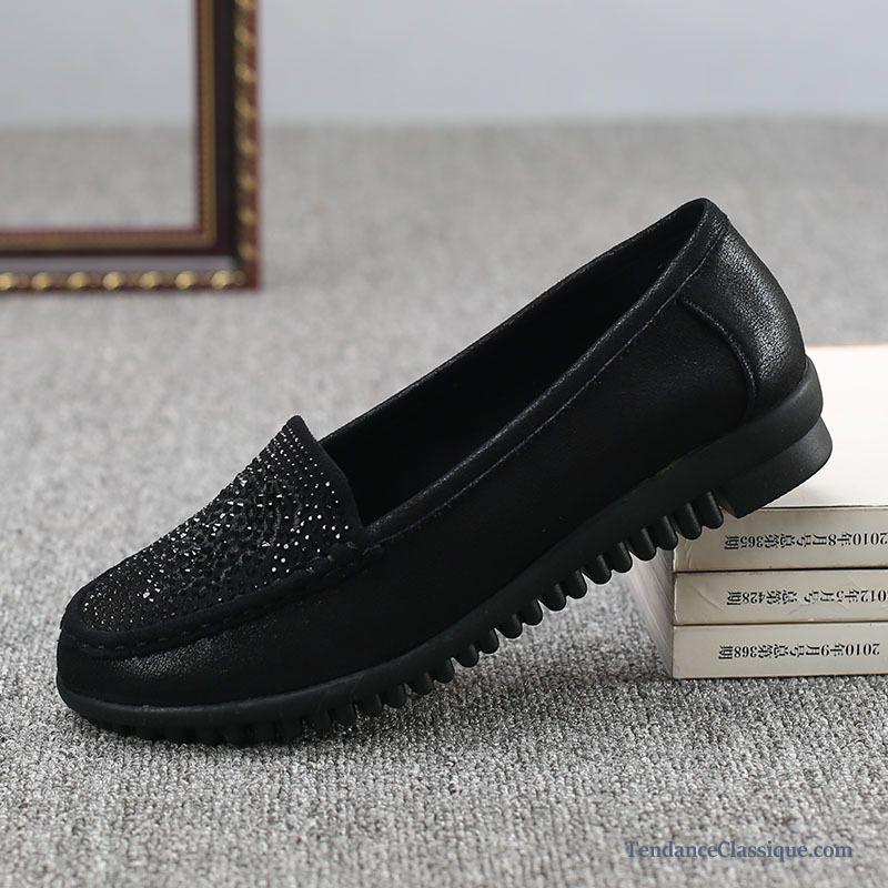 coupon de réduction codes promo fabrication habile Chaussure Style Mocassin, Mocassin A Pompon Femme Pas Cher