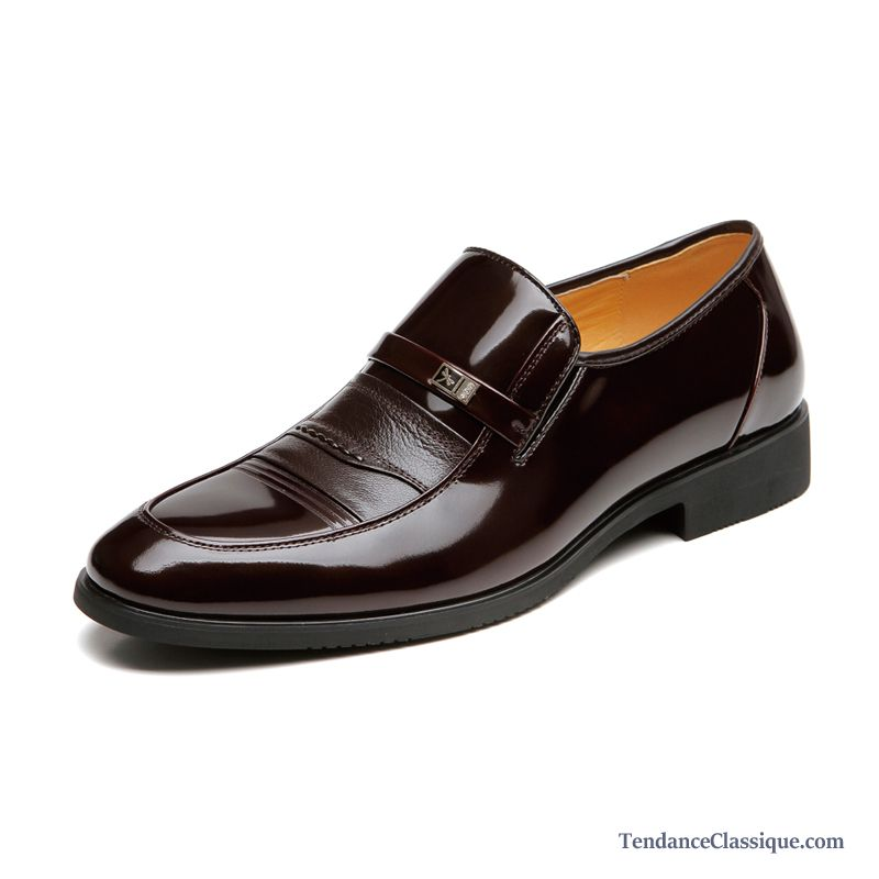 Chaussures En Cuir Homme Sandybrown, Chaussures Simili Cuir Marron Homme Soldes