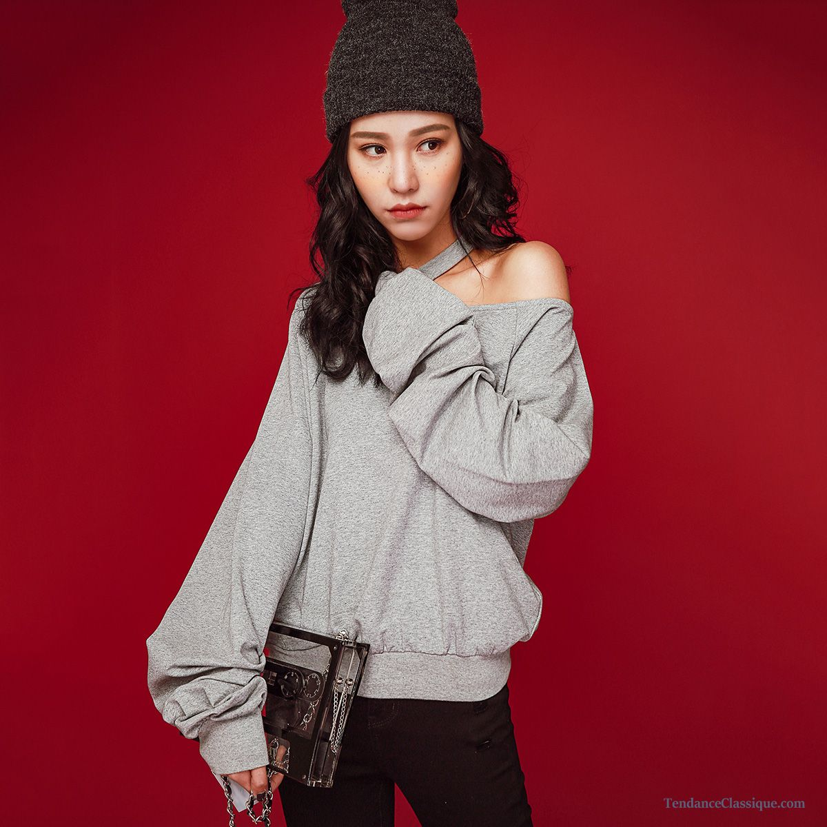 Gros Gilet En Laine Femme, Sweat À Capuche Femme Fashion Pas Cher 8192eeb5dedc