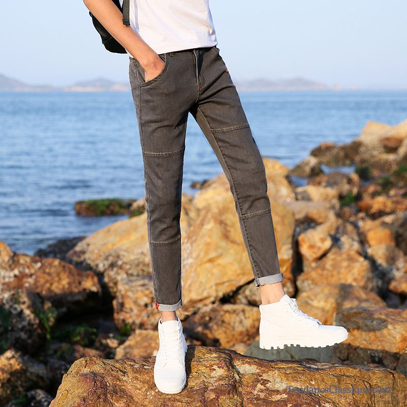 Homme Jeans Blanc Straight Pas OrJean Cher wO80knPX