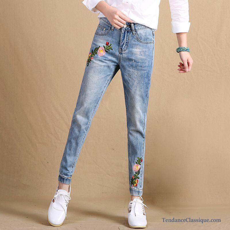 ec62dd297bf5 Jeans Slim Femme Fashion Rose