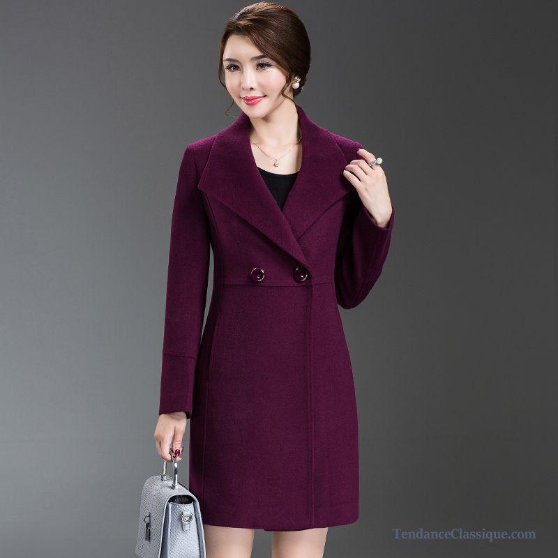 Manteau femme en cachemire