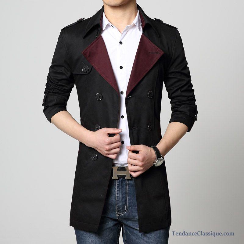 manteau d automne pour homme manteaus modees hommes. Black Bedroom Furniture Sets. Home Design Ideas