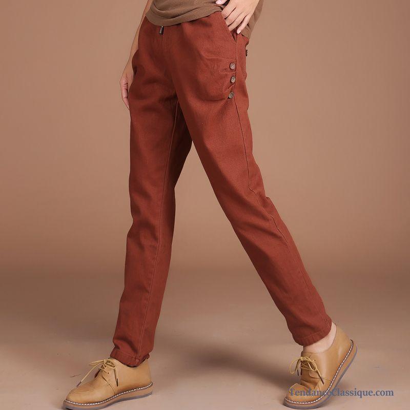 becc4abb368 Pantalon Carotte Femme Pas Cher