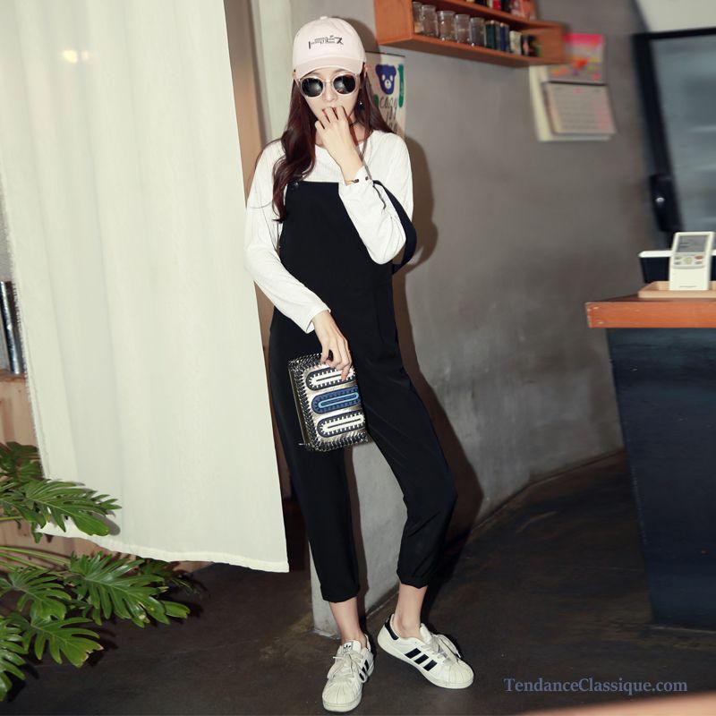 Cher Taille Pantalon Pas ElastiqueBlanc Femme tsrdxQCh
