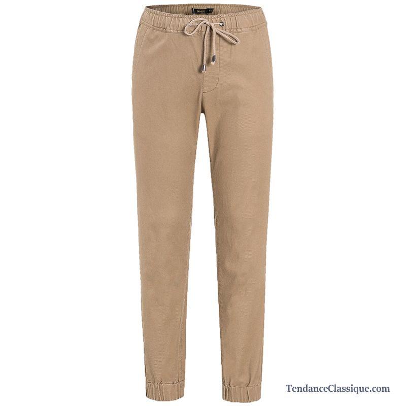 pantalon lin pas cher homme