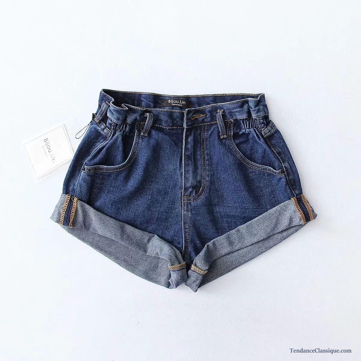 Skinny Pas Troué CherTendance Classique Et Femme Shorts FT13cKlJ