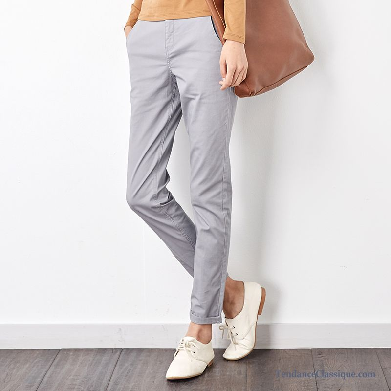 Pantalon Large Taille Haute Femme Rubine, Pantalon Fluide Femme