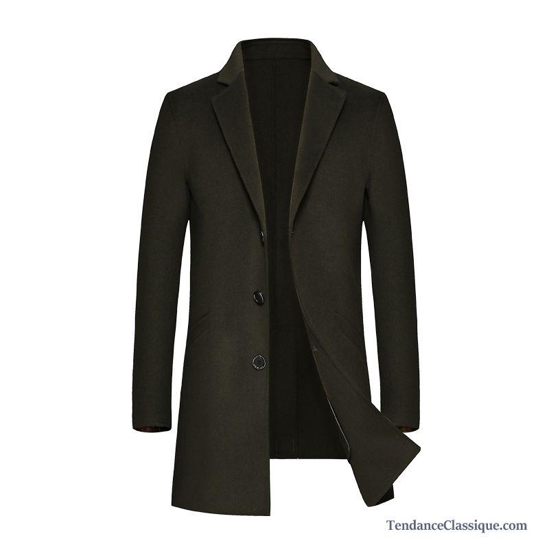 Manteau long homme marque
