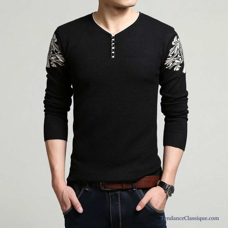 Pull Imprimé Homme, Achat Pull Homme