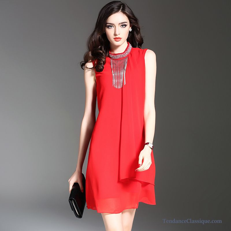 robe rouge mi longue robe hiver pas cher en vente. Black Bedroom Furniture Sets. Home Design Ideas