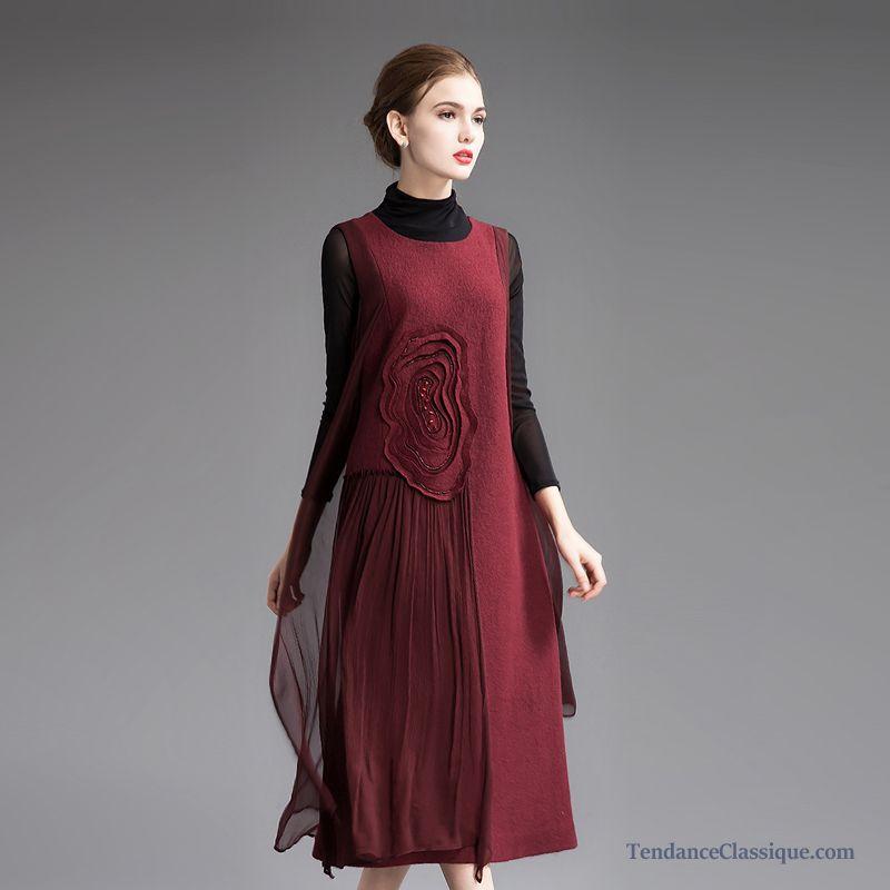 Robe Soirée Longue, Robe Mode Soie Femme
