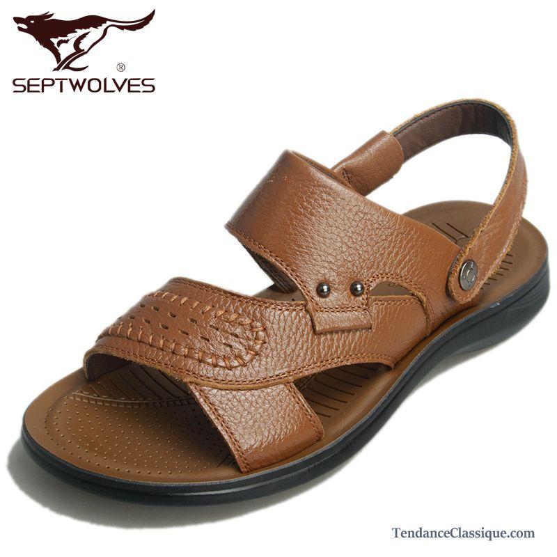 sandales loafer homme mode soldes sandales homme en cuir pas cher. Black Bedroom Furniture Sets. Home Design Ideas