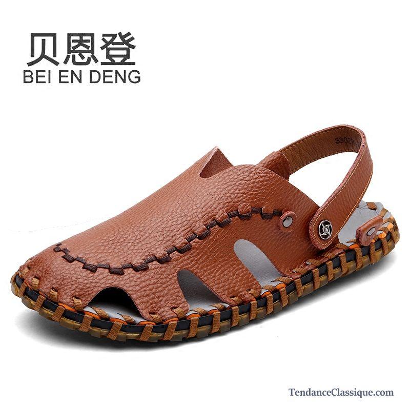 sandales loafer homme mode soldes sandales homme en cuir. Black Bedroom Furniture Sets. Home Design Ideas