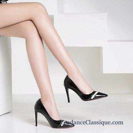 site de escarpins pas cher escarpins cuir rouges femme. Black Bedroom Furniture Sets. Home Design Ideas