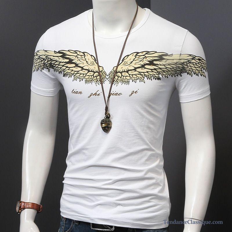 91ac1433042 T Shirt En V Homme, T Shirt Marque Pas Cher