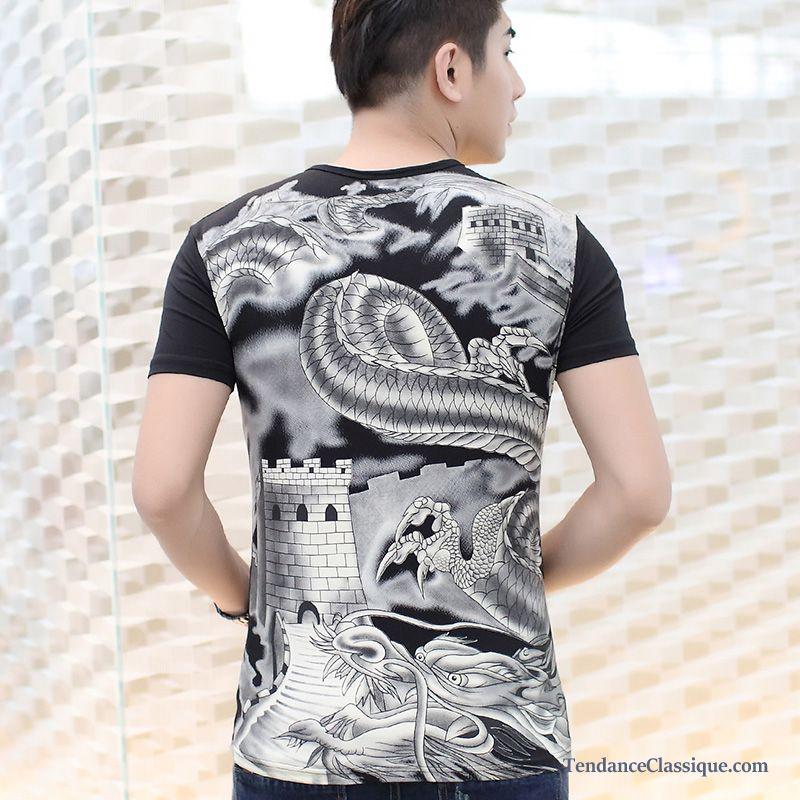 V Shirt Soldes Grand Col Pas HommeAcheter Cher T k8PNX0Onw