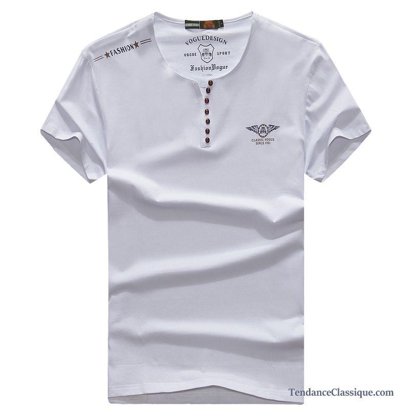 c4ca371e Shirt T Cher VioletCol Large Pas Homme France Acheter tsCrxhQd