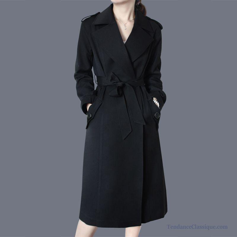 Veste cuir noir femme cintree